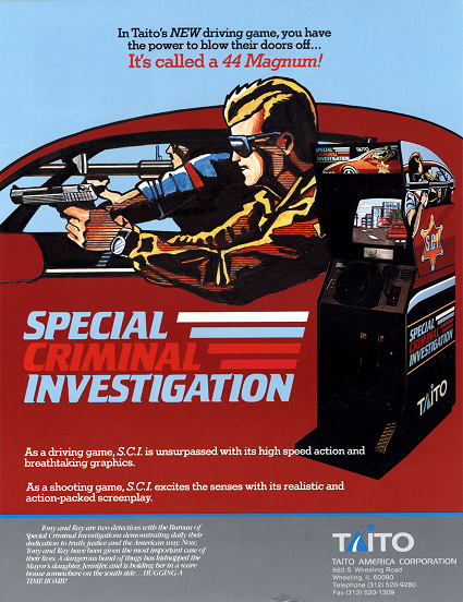 Special Criminal Investigation (coin-op, 1989)